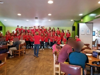 Concert in the Children's Home of Baltimore
